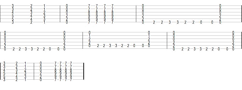 Como tocar una x en guitarra c 243 mo tocar quot el for Tu jardin con enanitos acordes