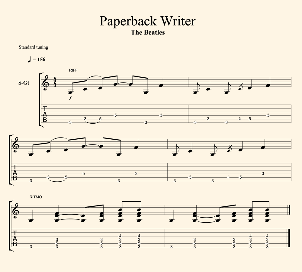 paper back writer Paperback writer – the beatles experience takes its audience on a trip through  the musical years of the world's most popular rock group of all time hear the hits .