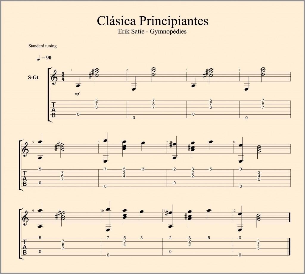Clásica Principiantes TAB