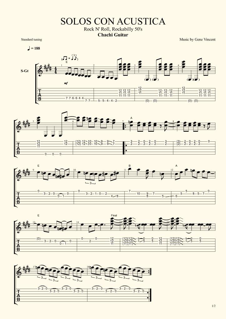 solos acustica